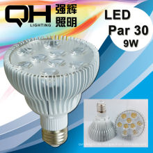 2014 CE ROHS E27 9W Par30 Led Spotlight 6500K